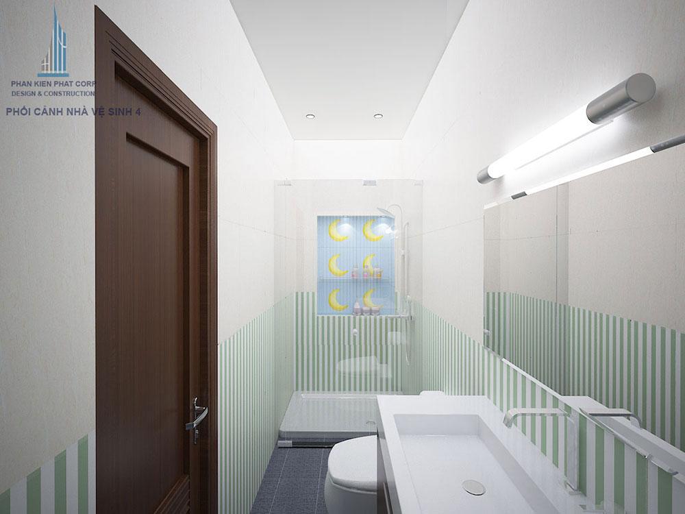 Phối cảnh nhà vệ sinh 2