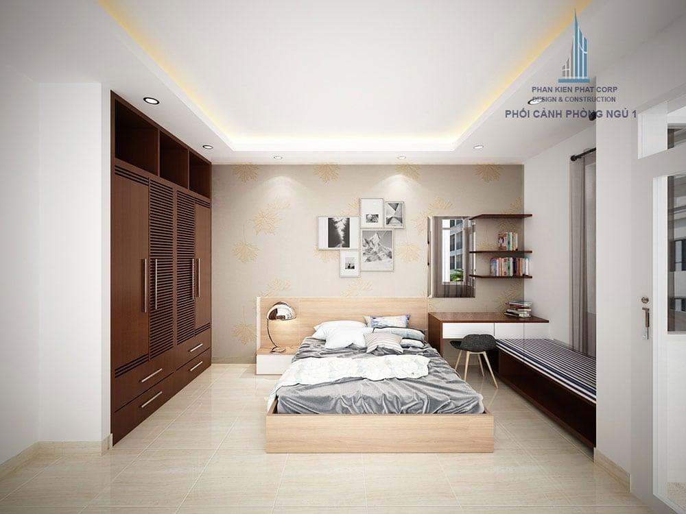 Phối cảnh phòng ngủ 1