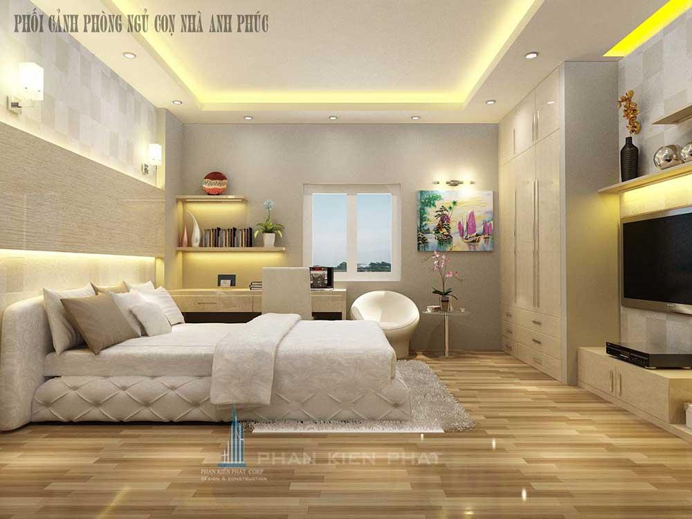 Phối cảnh phòng ngủ 2