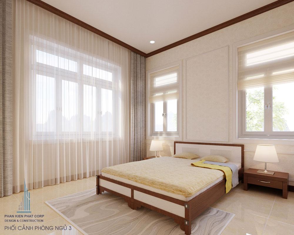 Phối cảnh phòng ngủ 3 góc nhìn 1