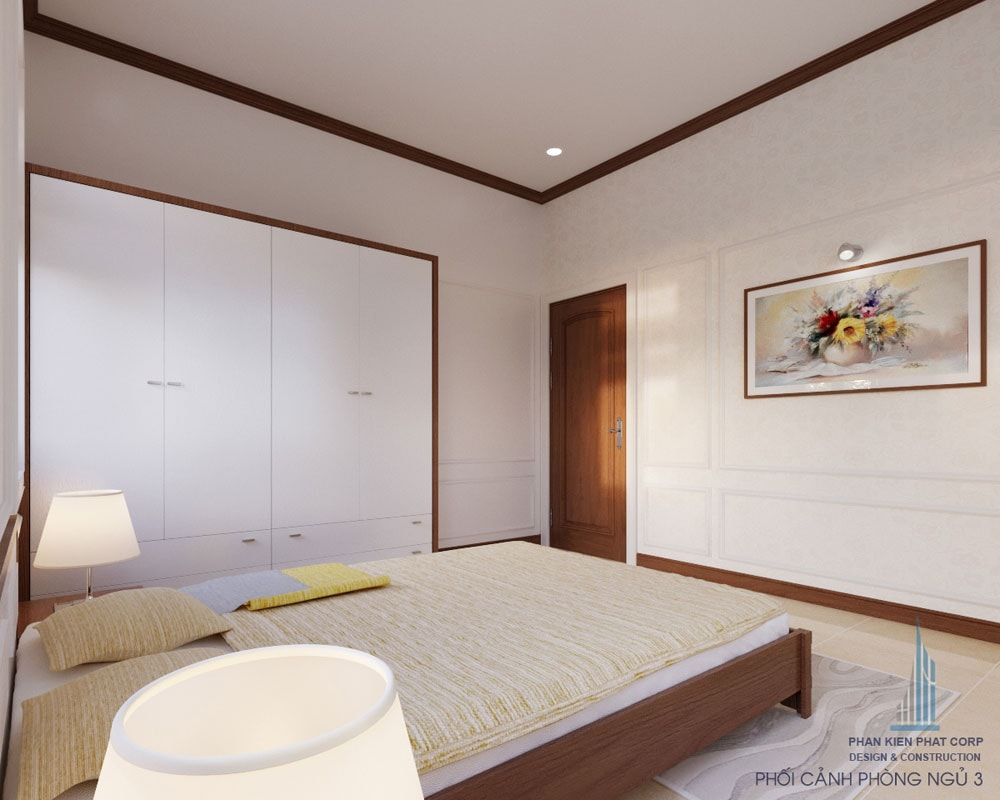 Phối cảnh phòng ngủ 3 góc nhìn 2