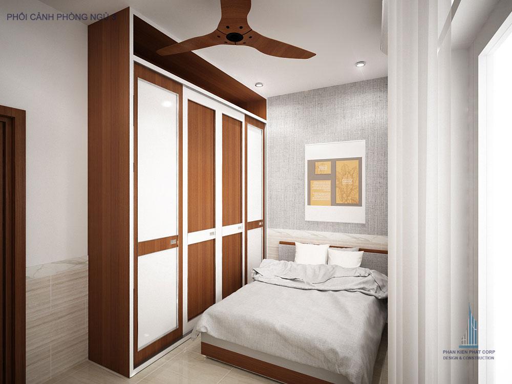 Phối cảnh phòng ngủ 3 góc view 1