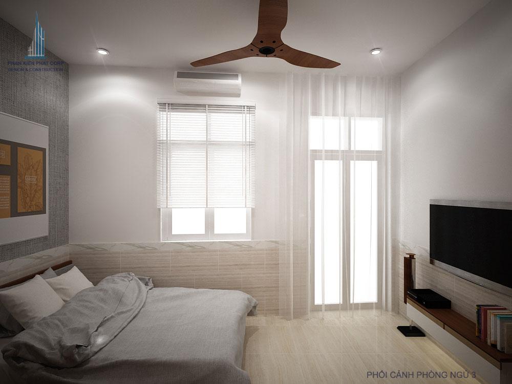 Phối cảnh phòng ngủ 3 góc view 2