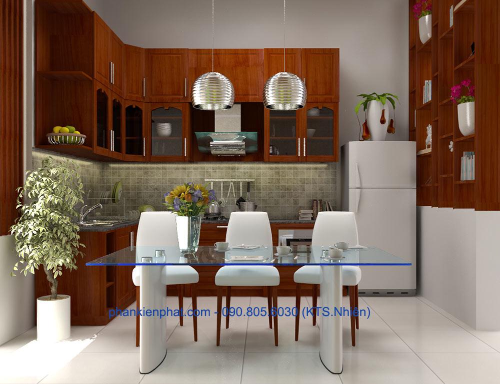 Phòng ăn và bếp góc view 2