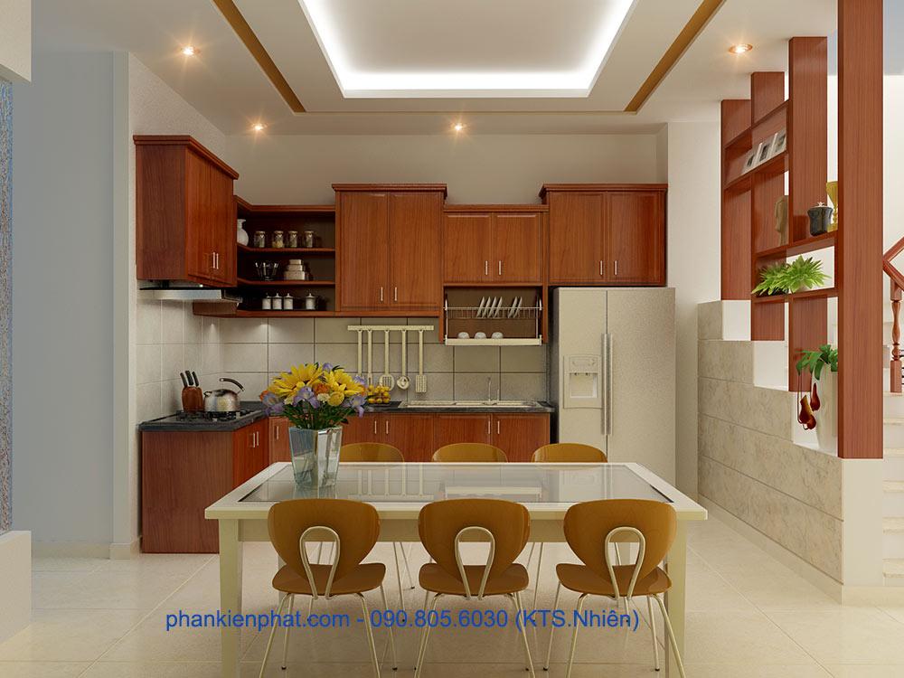 Phòng bếp góc view 1