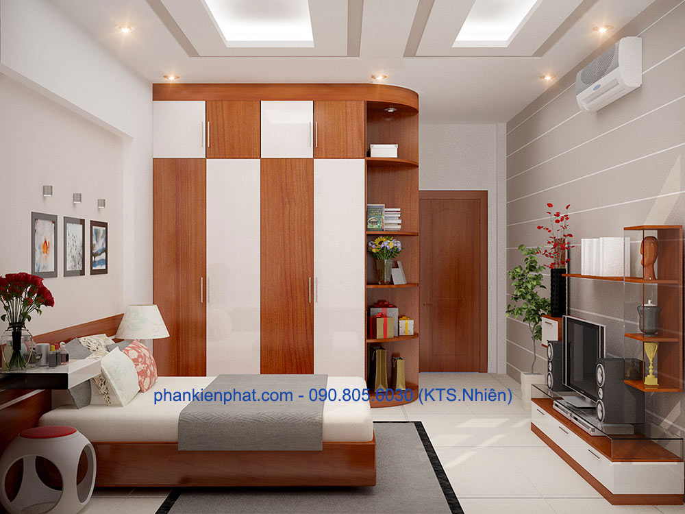 Phòng ngủ 1 góc view 1