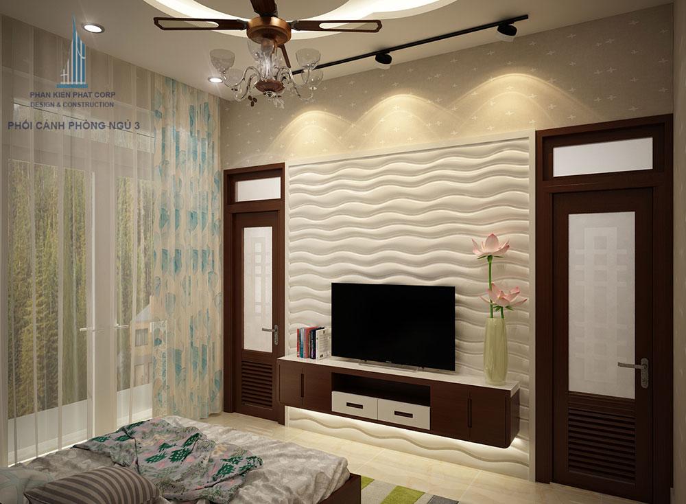 Phòng ngủ 3 góc 1