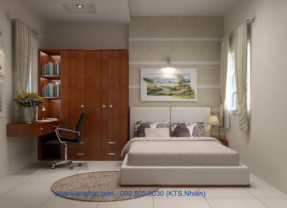 Phòng ngủ vợ chồng góc view 2