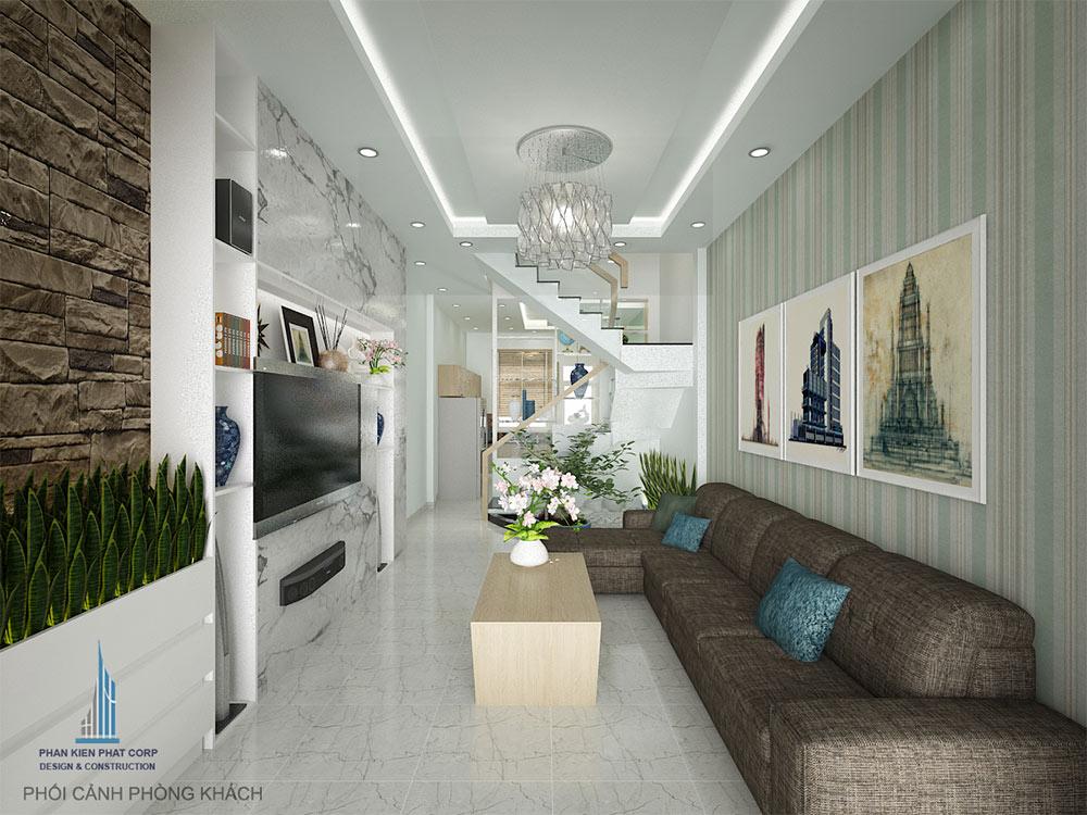 thiết kế phòng khách góc view 1