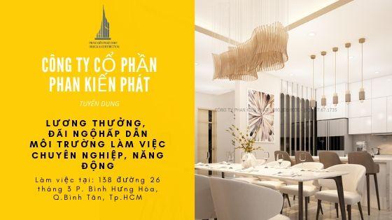 Phan Kiến Phát tuyển dụng