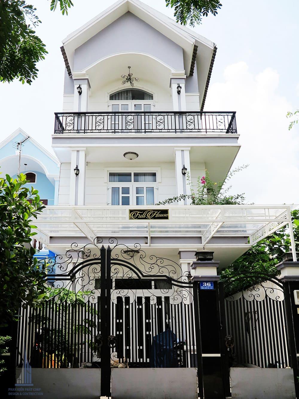 Biệt thự phố 3 tầng mái thái cô Loan quận 9, Tp.HCM