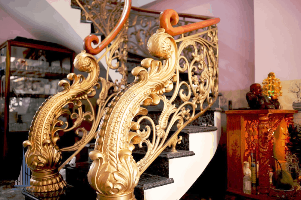 Cầu Thang Hoàn Thiện Được thiết kế Sắc Sảo, Nghệ Thuật Bắt Mắt