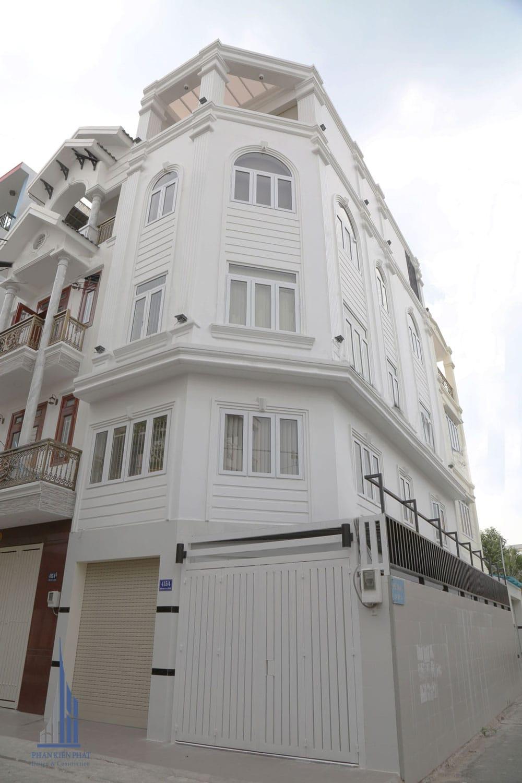 Công trình biệt thự phố 4.5x12.5m tại Tân Bình