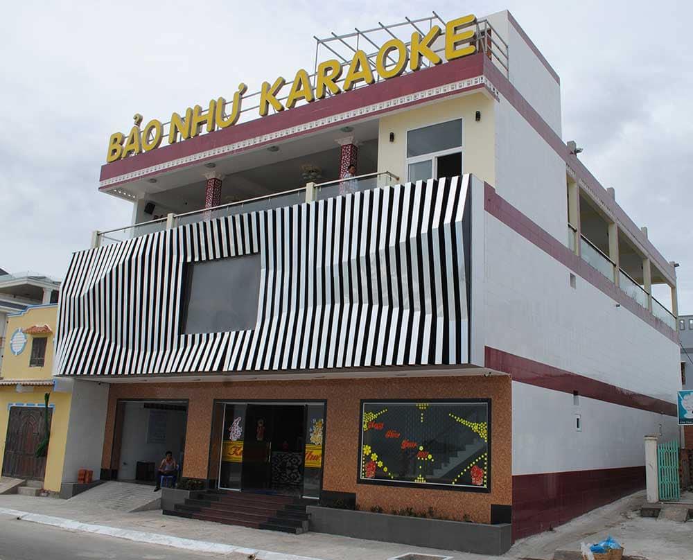 Công trình hoàn thiện karaoke & cafe tại Phước Hải Vũng Tàu