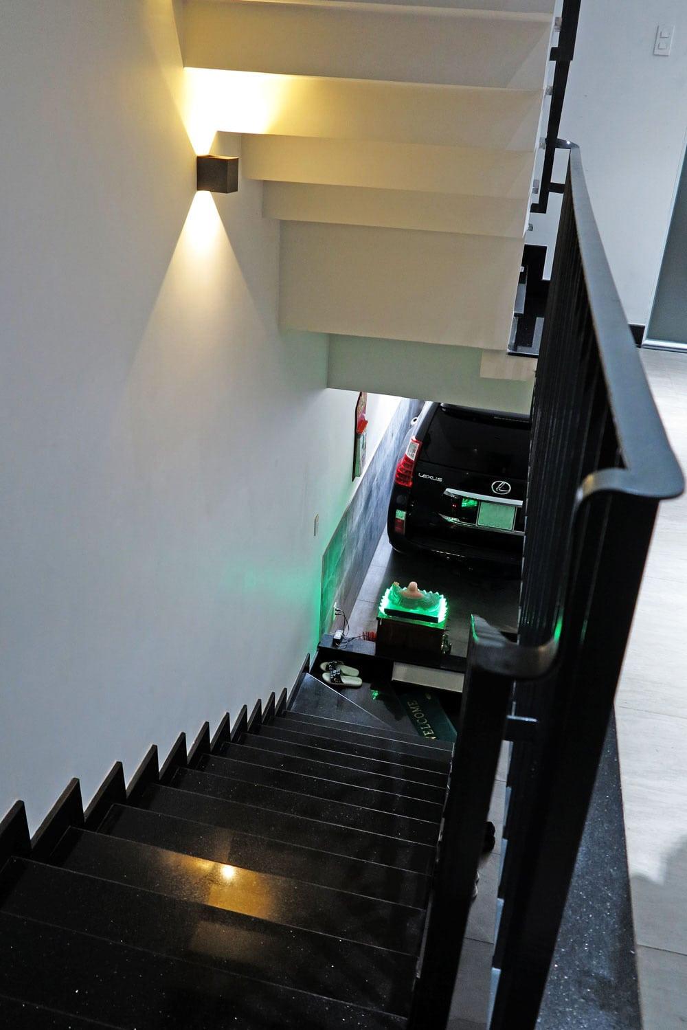 Công trình nhà phố hiện đại 5 tầng diện tích 4x15m góc view 8