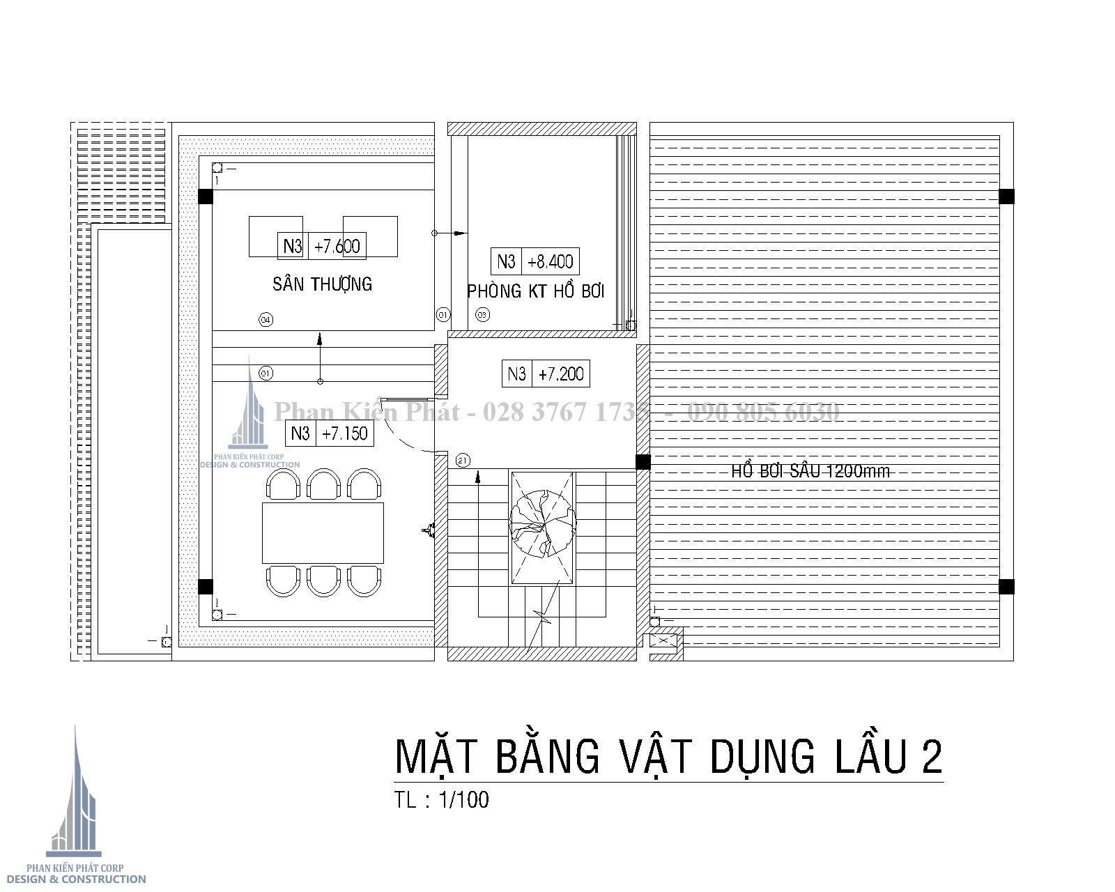 Mat Bang Lau 2 Biet Thu Pho Hien Dai Binh Phuoc
