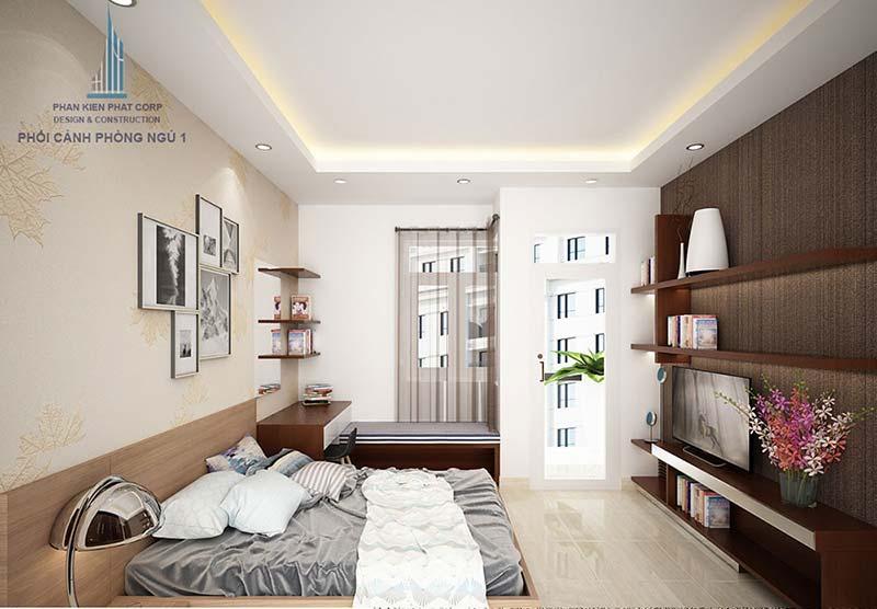 Mẫu thiết kế phòng ngủ trẻ trung