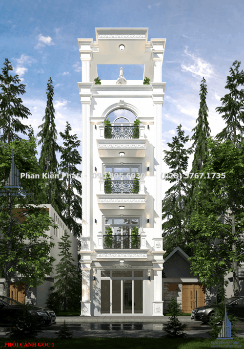 Ngoại thất mẫu thiết kế nhà phố đẹp