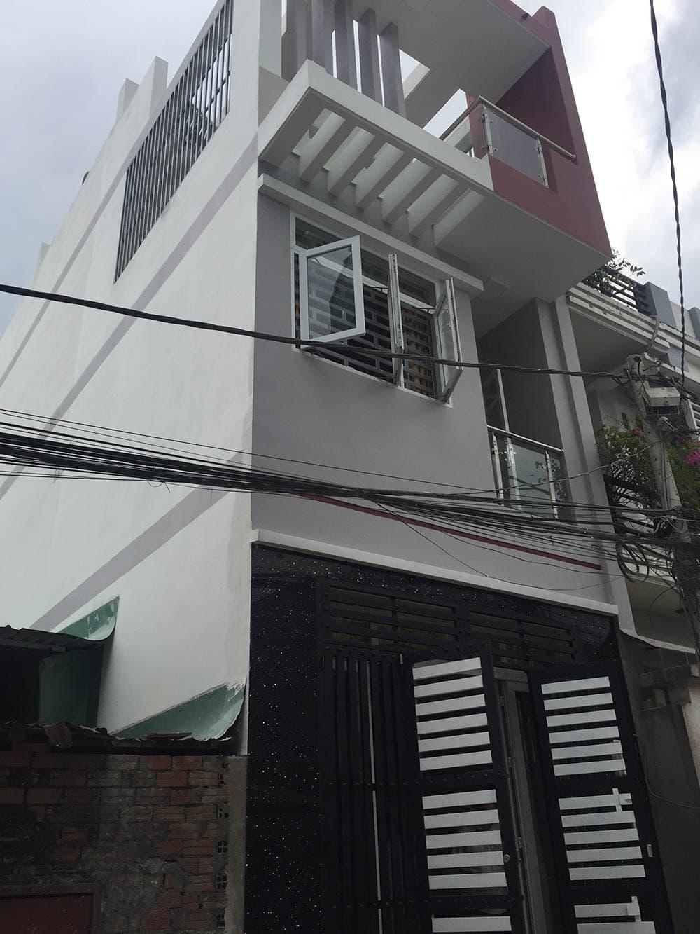 Nhà phố 3 tầng diện tích 4x15m tại Bình Tân
