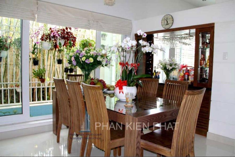 Phòng bếp và phòng ăn góc view 1