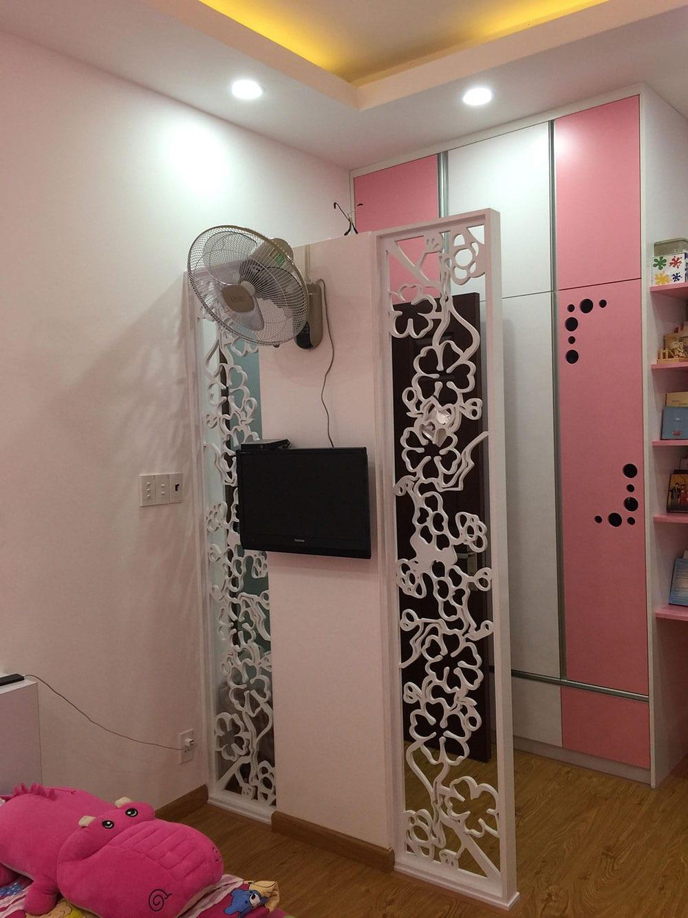 Phòng ngủ con gái góc view 2
