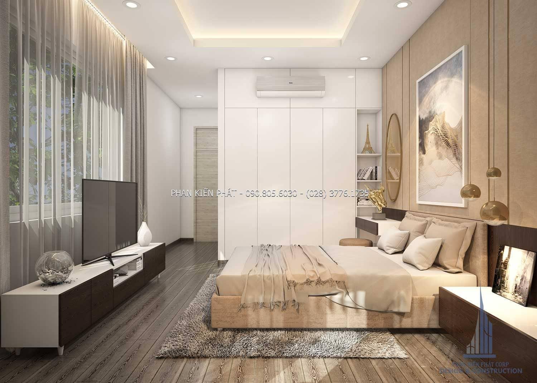 Phòng ngủ phong cách hiện đại, đẹp dành cho chủ sở hữu ngôi nhà