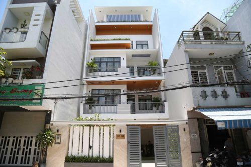 Cong Trinh Biet Thu 5 Tang Hien Dai Hoan Thien Phan Kien Phat Thuc Hien Goc View 1