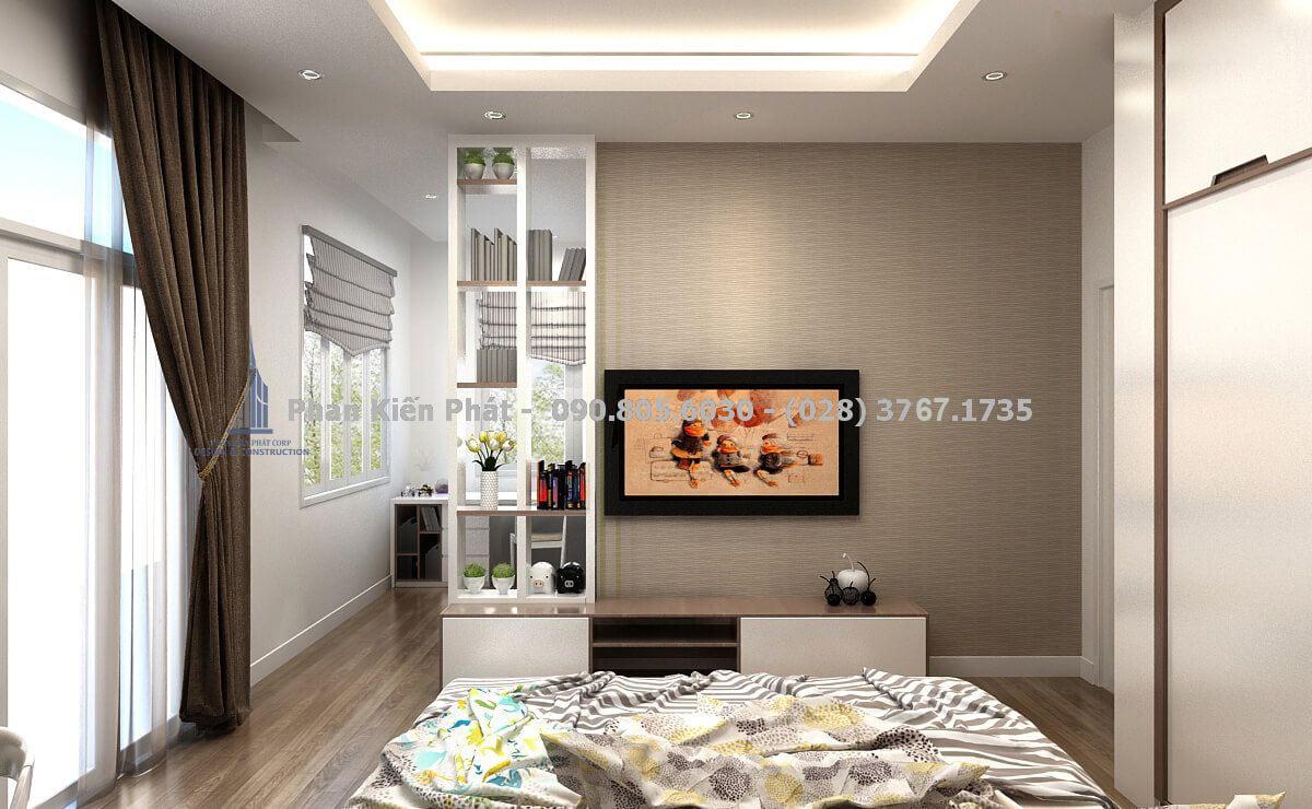 Phòng ngủ đẹp với thiết kế tinh tế trang trí phối ánh sán đẹp hài hòa