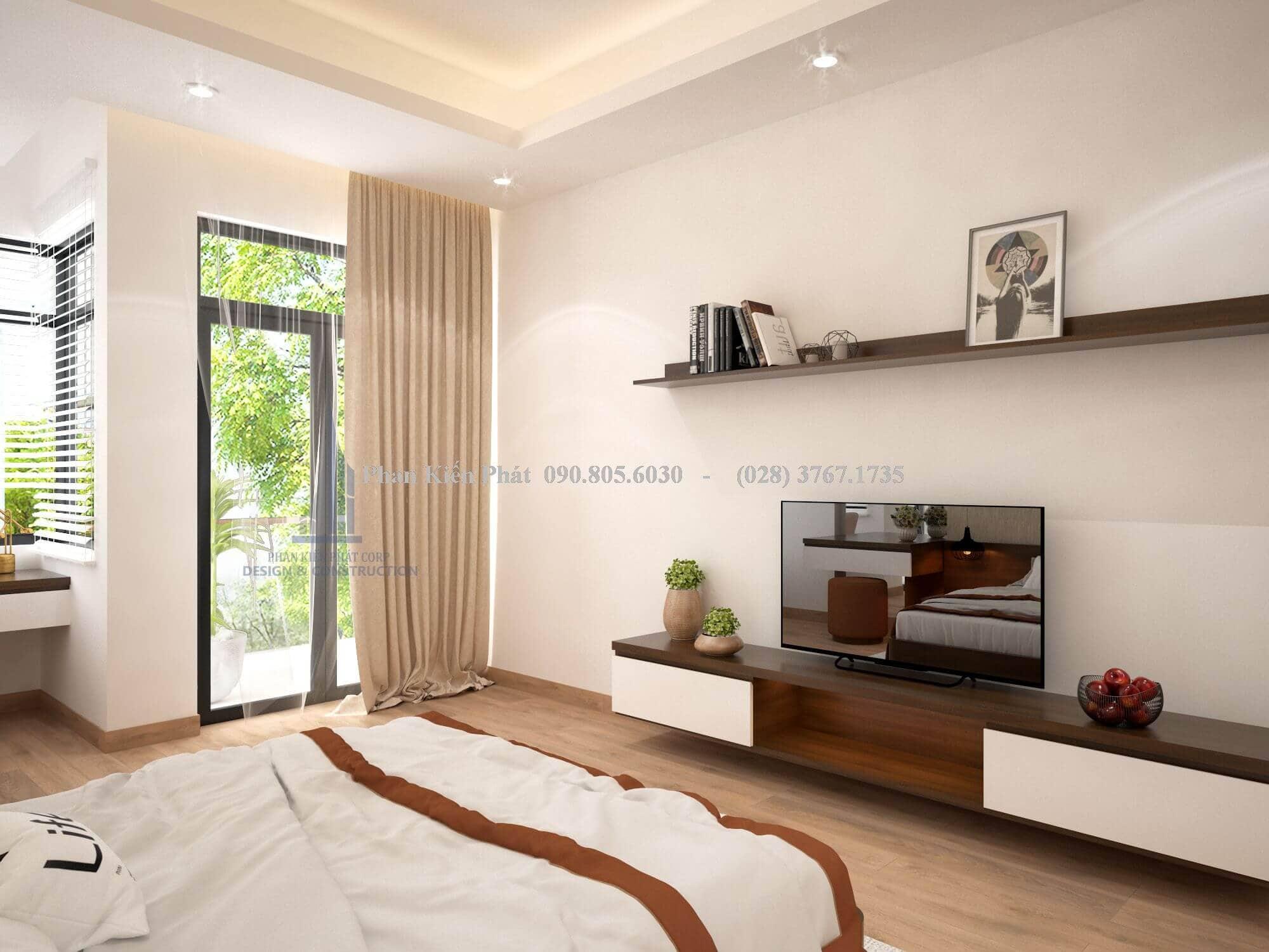 Thiết kế nội thất tinh giản làm nổi bật nét đẹp của căn phòng hiện đại