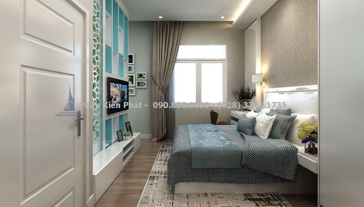 Thiết kế nội thất phòng ngủ ba mẹ đẹp
