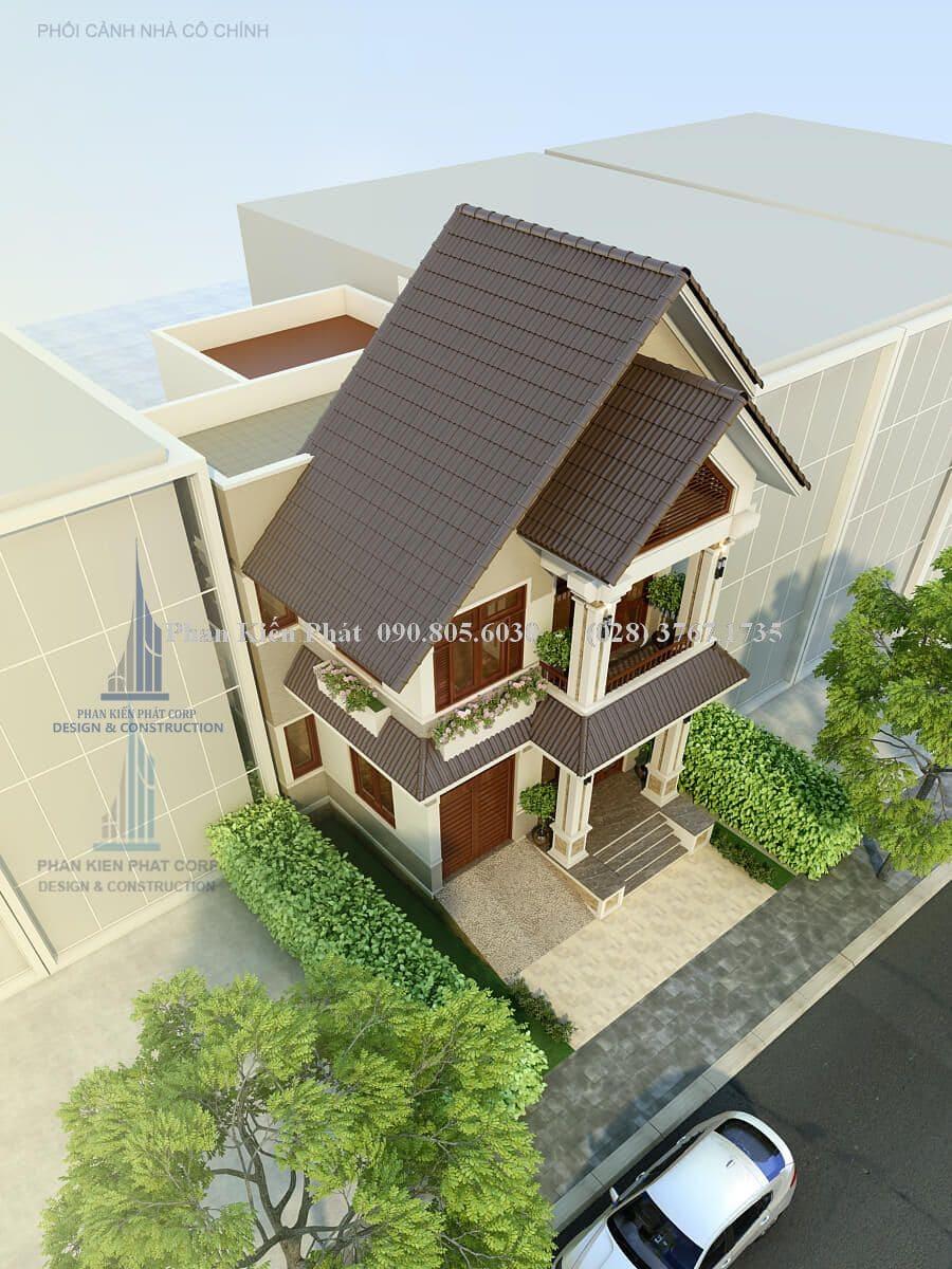 Trang trí mặt tiền ngôi nhà