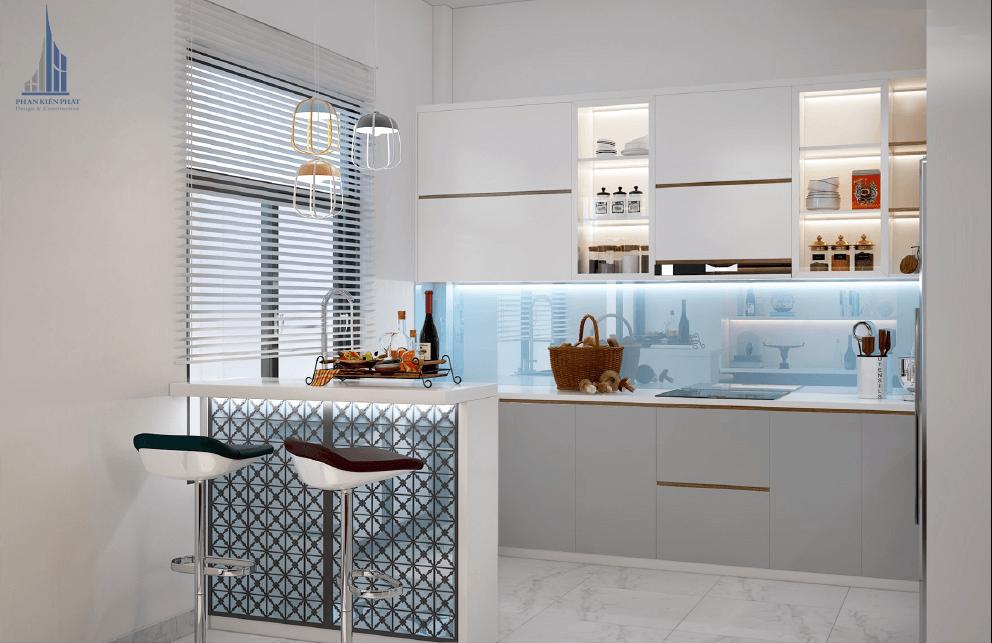 Nội thất nhà bếp đầy đủ tiện nghi