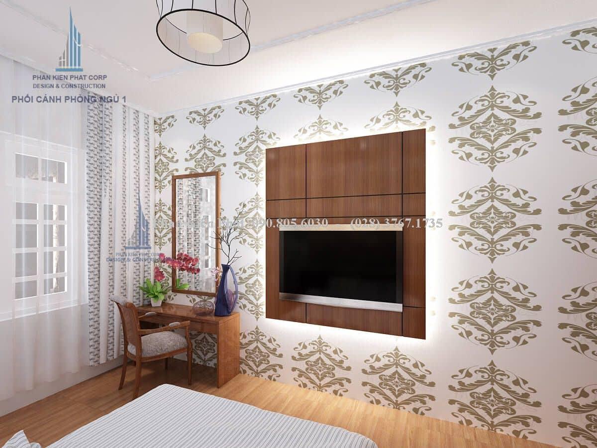 Nội thất phòng ngủ dành cho master view 2