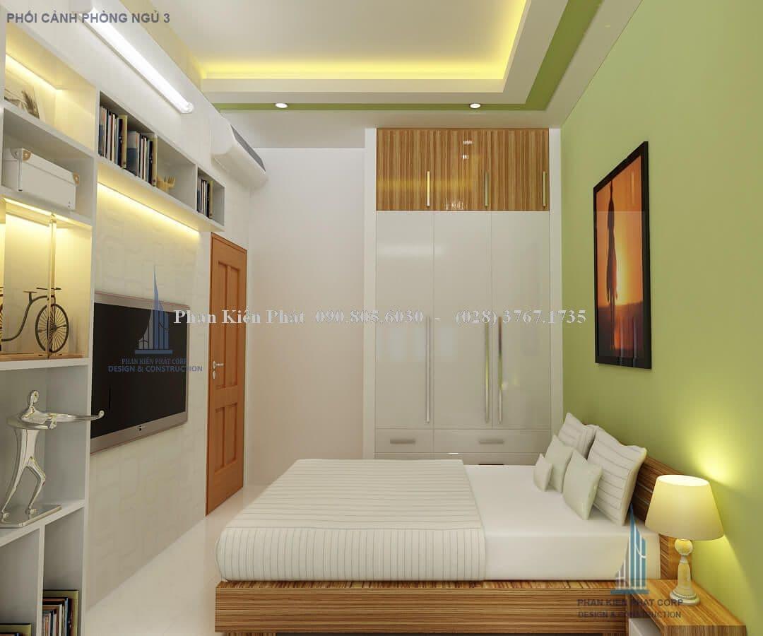 Phòng ngủ nhà phố mặt tiền