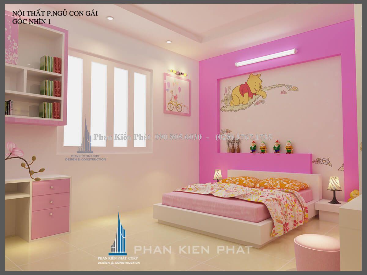 phòng ngủ con gái view 1