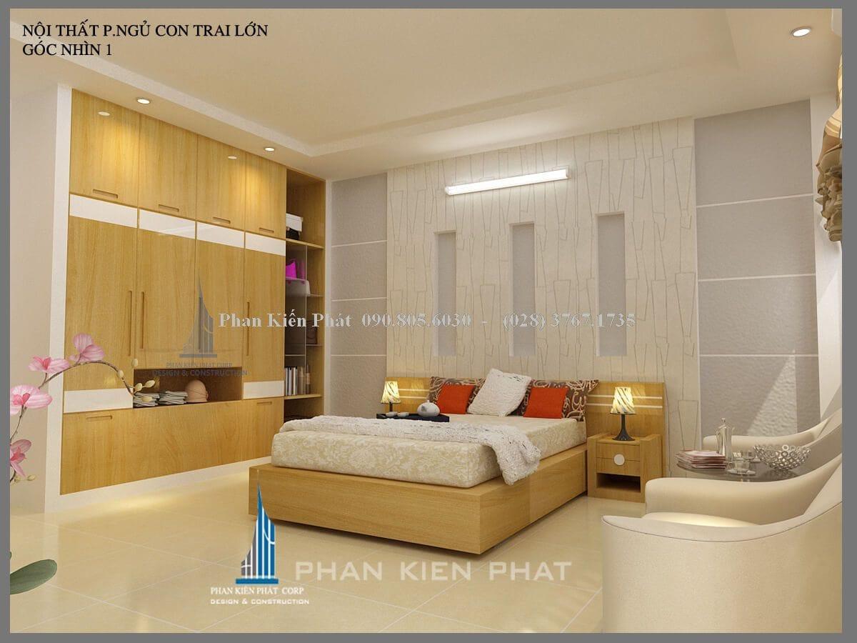 phòng ngủ con trai lớn view 1