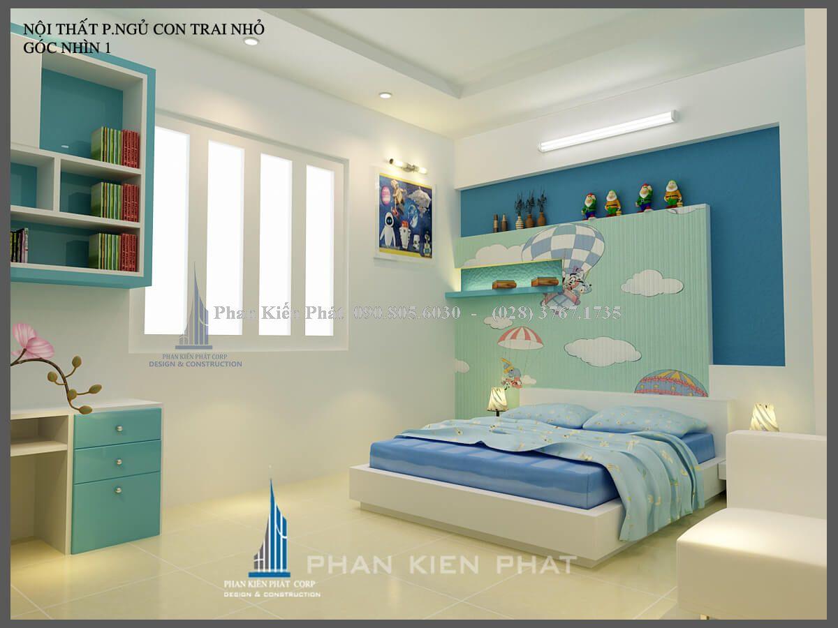 phòng ngủ con trai nhỏ view 1