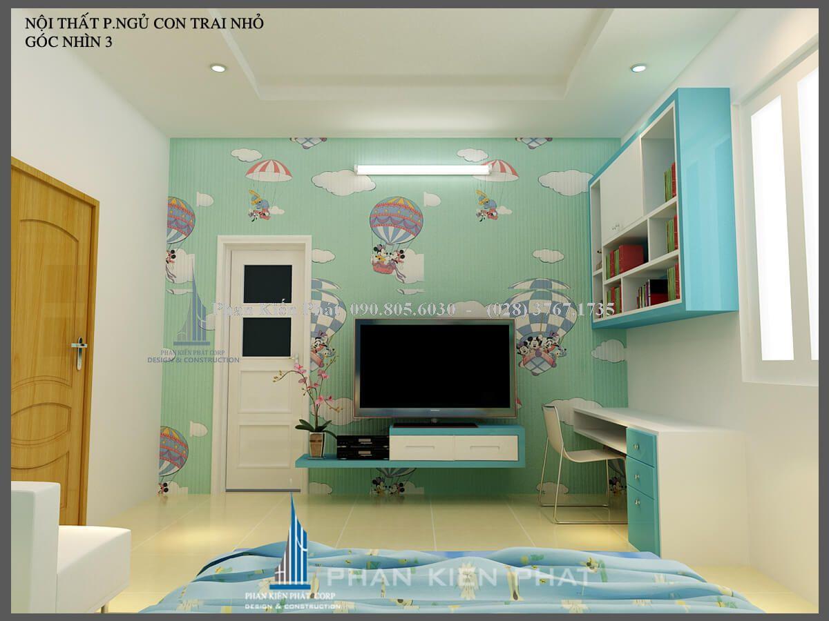 phòng ngủ con trai nhỏ view 3