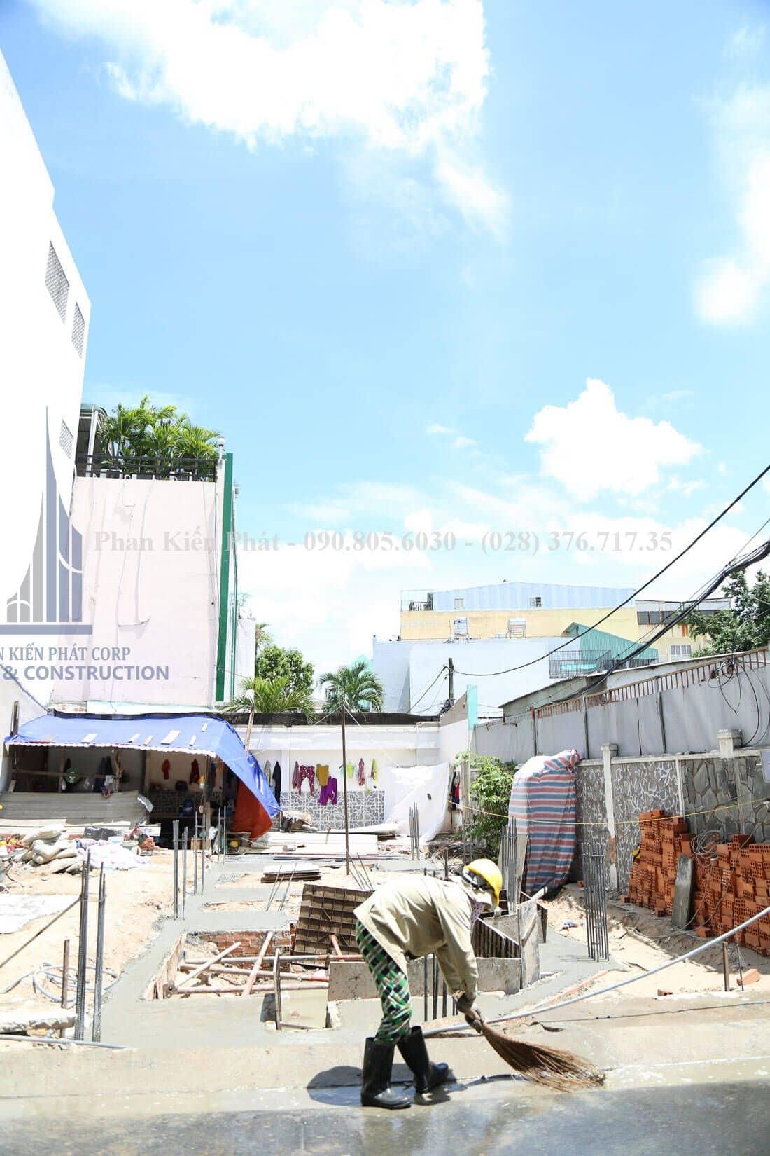 Thi công xây dựng nhà phố, nhà ống hiện đại view 3