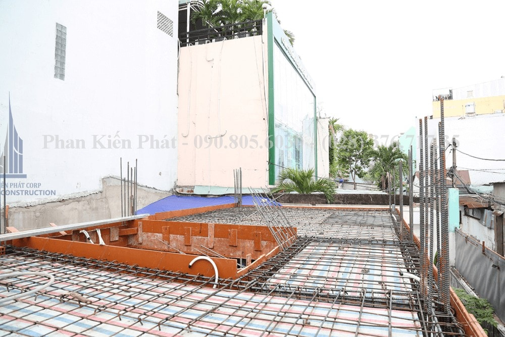 Thi công xây dựng nhà phố, nhà ống hiện đại view 4