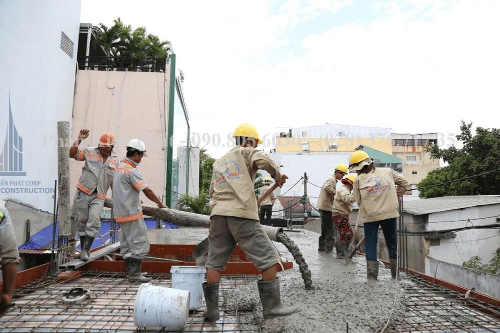 Thi công xây dựng nhà phố, nhà ống hiện đại view 5