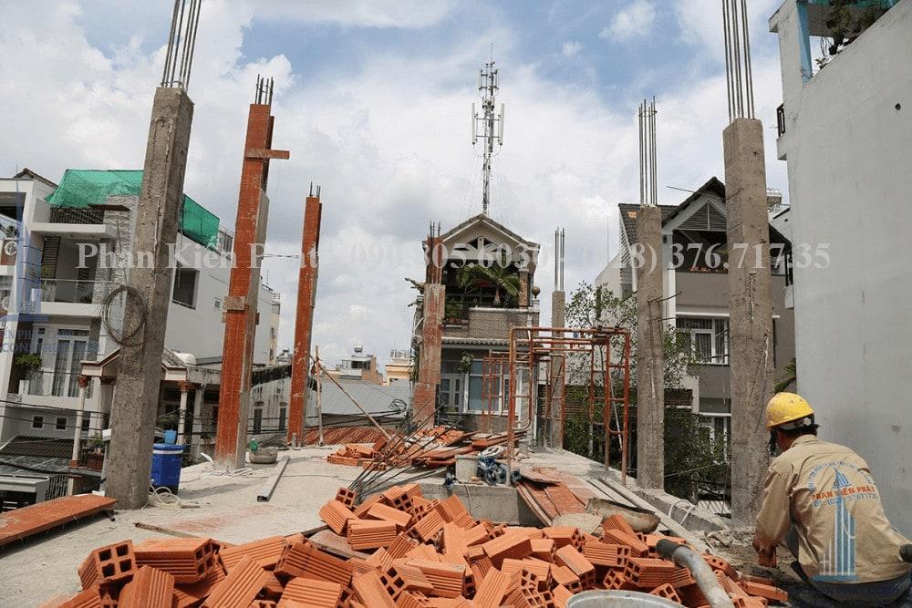 Thi công xây dựng nhà phố, nhà ống hiện đại view 7