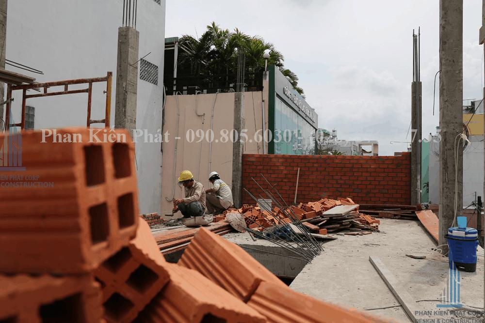 Thi công xây dựng nhà phố, nhà ống hiện đại view 8