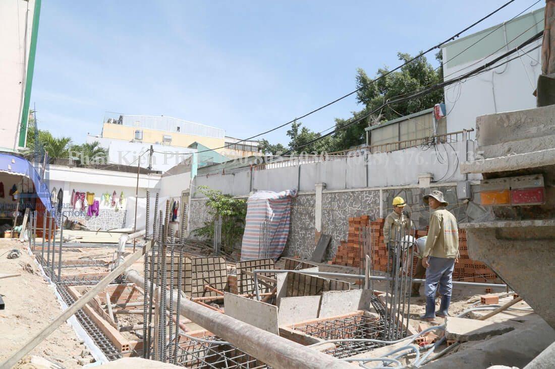 Thi công xây dựng nhà phố, nhà ống hiện đại view 2