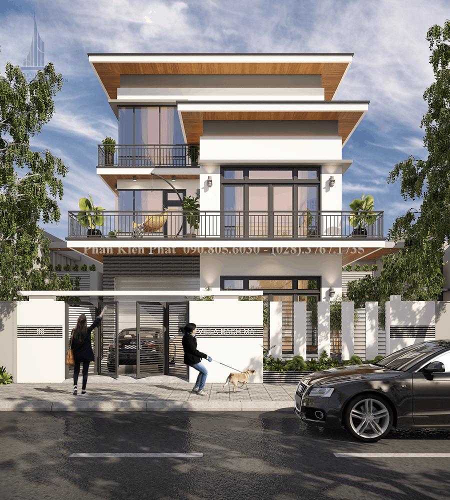 Nét đẹp hiện đại của nhà Villa Bạch Mã