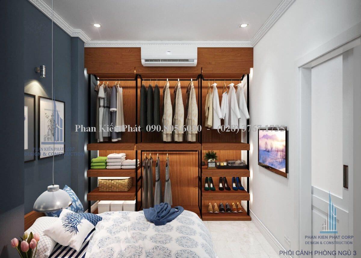 Phối cảnh mẫu phòng ngủ số 3
