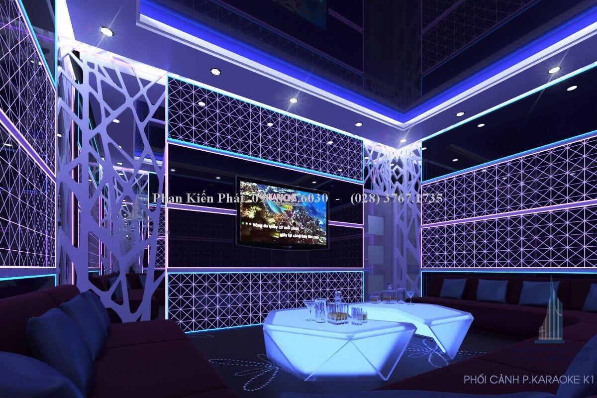 Mẫu phòng karaoke đẹp K1