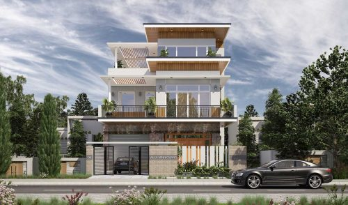 thiết kế biệt thự villa đẹp hiện đại
