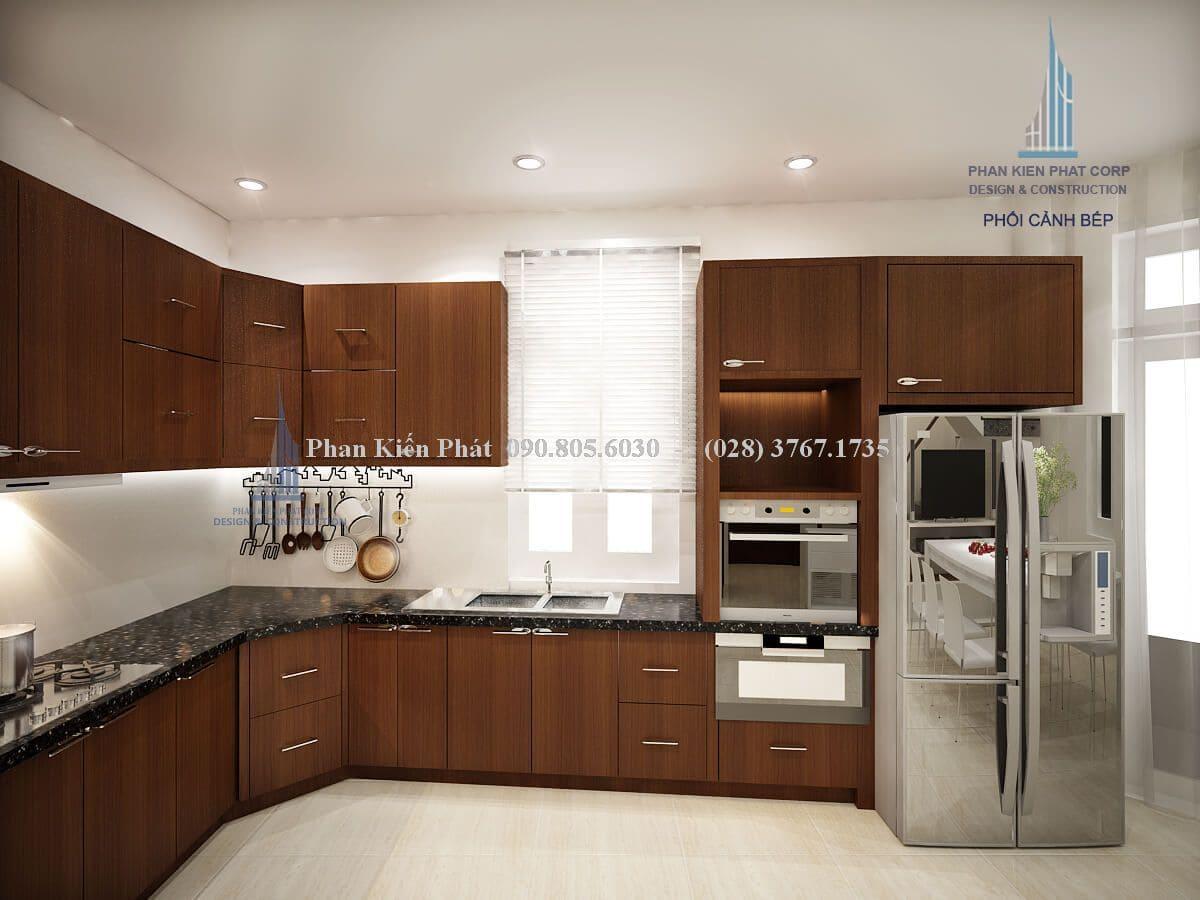 Nội thất phòng bếp không chỉ là thành phần quan trọng mà còn giúp đỡ bạn trong quá trình nấu nướng