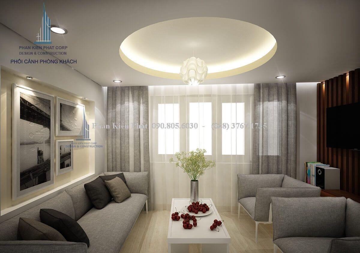 Nội thất phòng khách- tầng lửng view 1